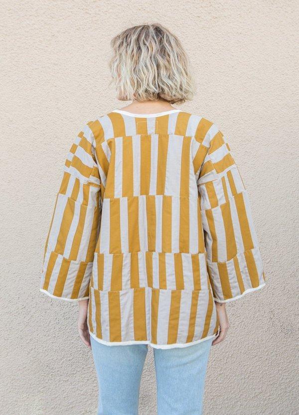 Tonle Kita Jacket - Mustard/Neutrals