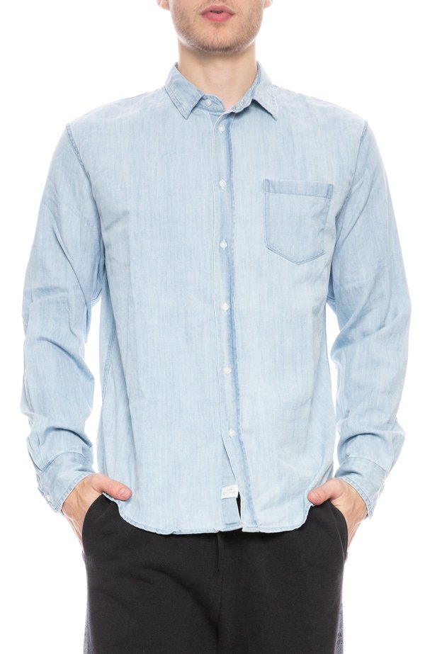 Frank & Eileen Luke Shirt - Classic Blue Wash