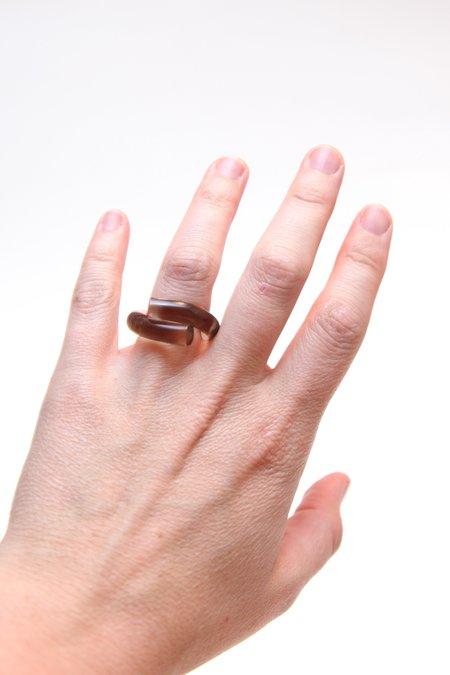 Corey Moranis Wrap Ring - Smoke