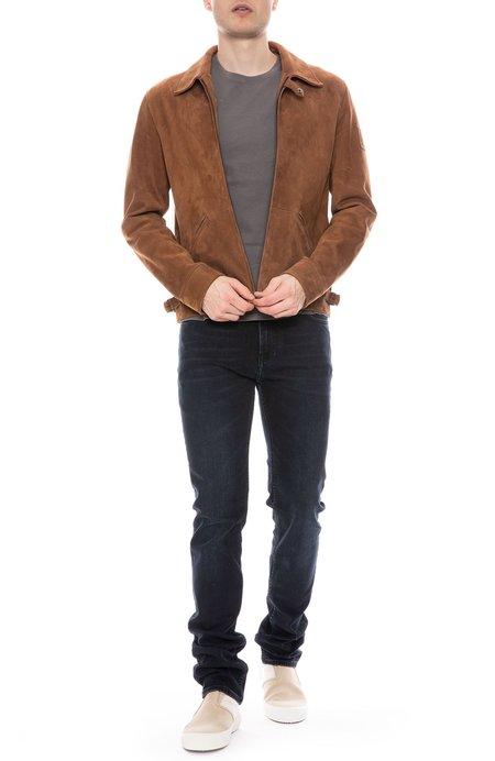 Belstaff Cooper Suede Jacket - LIGHT BROWN