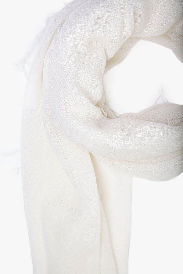 Chan Luu Cashmere and Silk Scarf - Eggshell