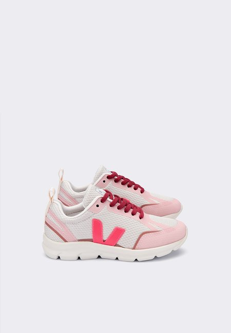 Kids VEJA Canary Alveomesh Junior - natural/rose/dried petale