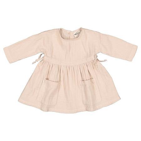 Kids Moumout Paris Anita Muslin Dress - Nu Pink