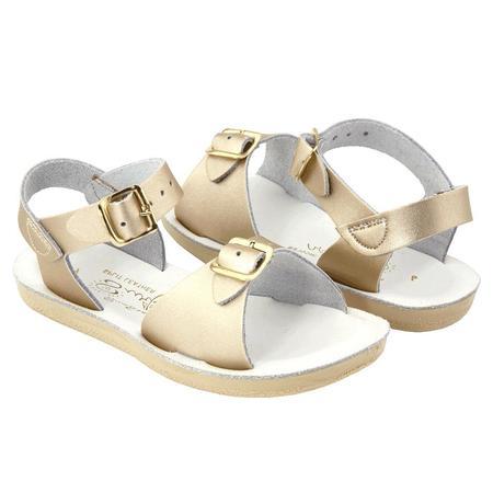 Kids Saltwater Sandals Salt Water Surfer Sandals - Gold