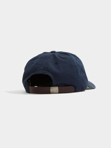 Adsum Overdyed Core Logo Hat - Dark Navy