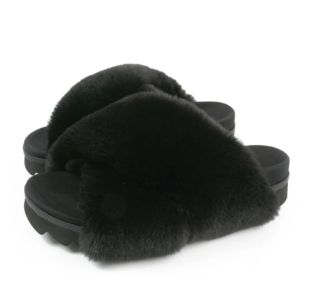 Roam Cloud Sandals - Black