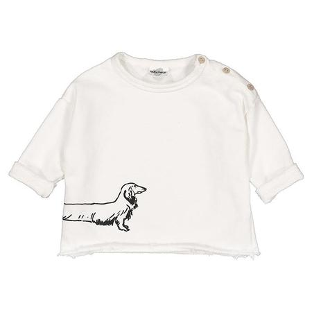Moumout Paris Child Sweatshirt With Sausage Dog