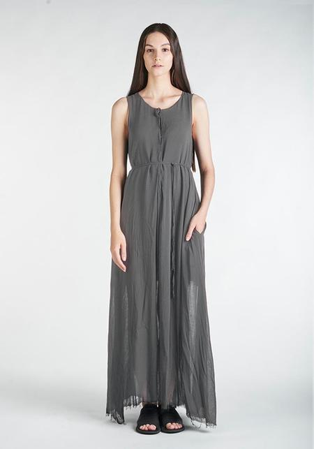Studio B3 Ormelia Grey Viscose Maxi Dress
