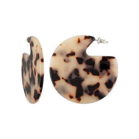 Machete Clare Earrings - Ash Blonde Tortoise