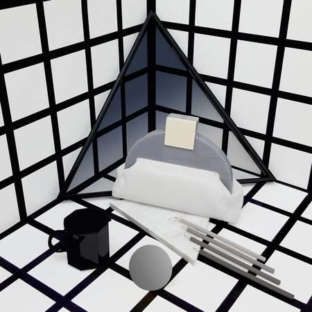 Matter Matters Gallery Deco - Mono White