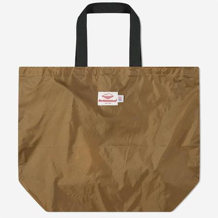 Battenwear Packable Tote - Tan/Black