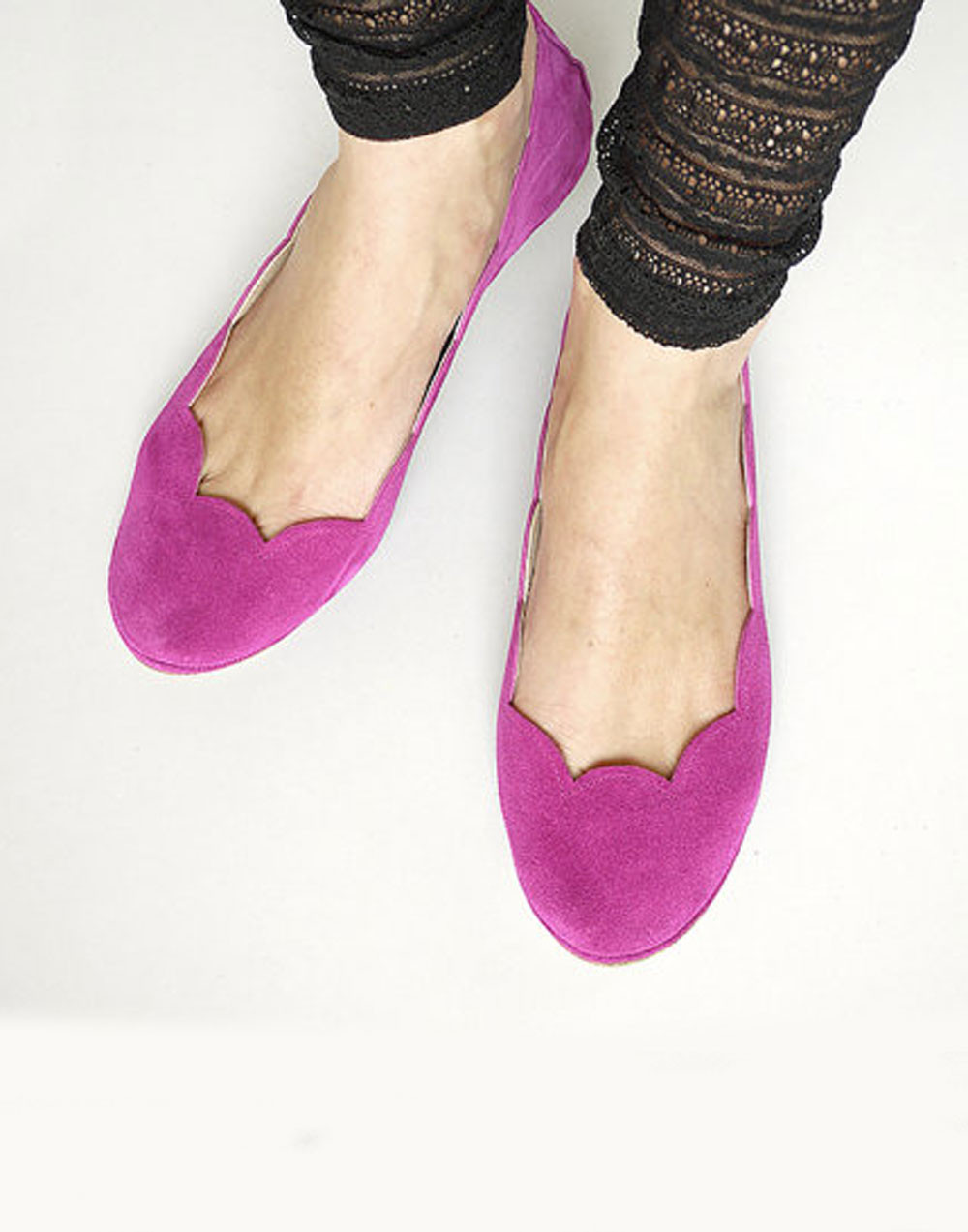 Shop pink flat shoes at Neiman Marcus, where you will find free shipping on the latest in fashion from top designers.