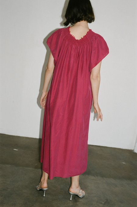 Hansel From Basel Amida Dress - Fuchsia