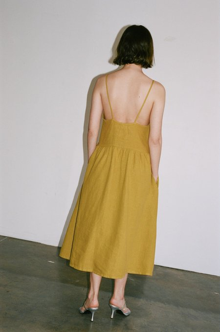 Hansel From Basel Sadie Dress - Citron