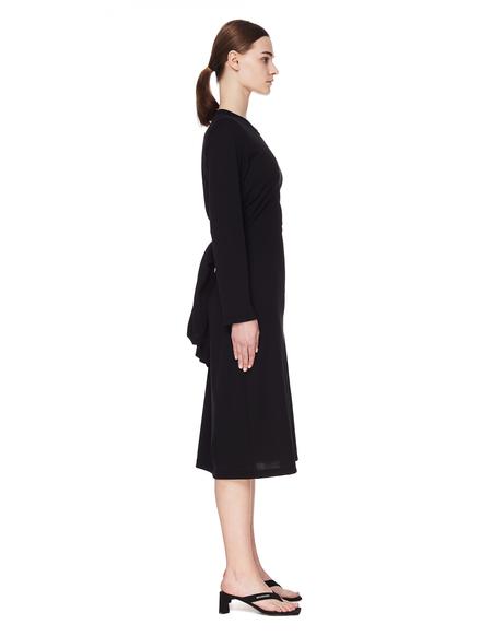 Comme des Garçons Sleeve Dress - Black