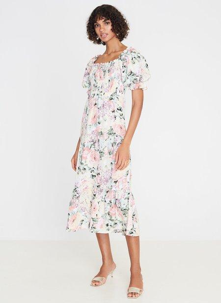 Faithfull De Christin Midi Dress - Floral