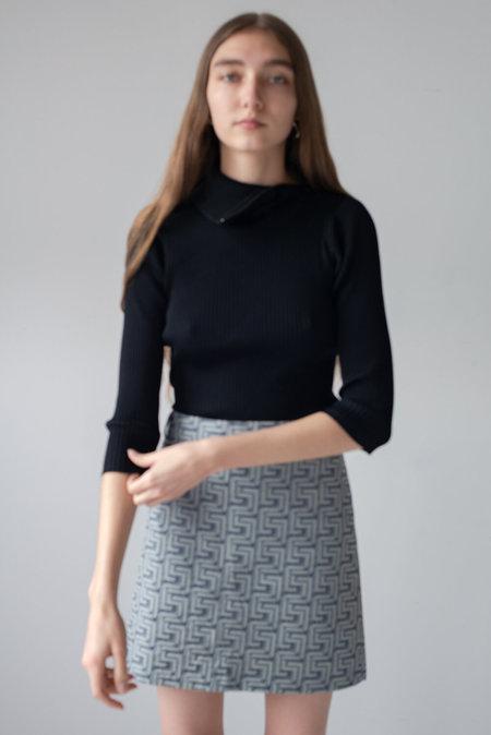 VINTAGE Versace A Line Mini Skirt