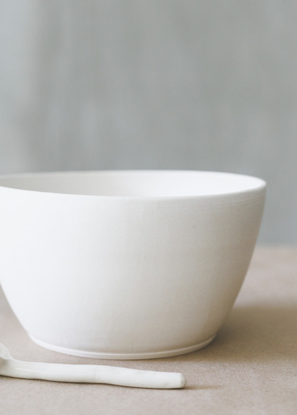 Notary Ceramics - Serving Bowl in White