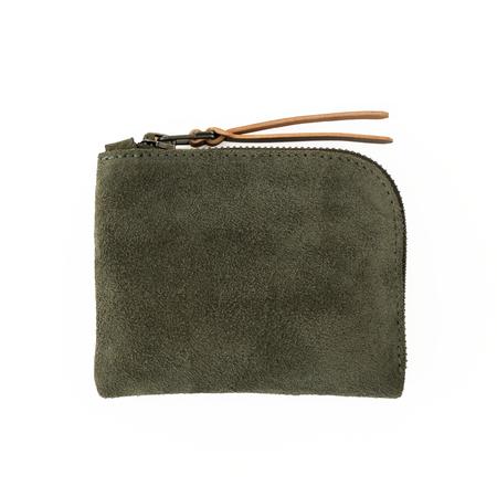 MAKR Zip Luxe Wallet - Moss Horween