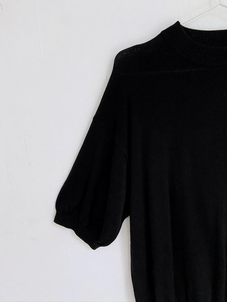 Vintage Silk and Cotton Sweater - black