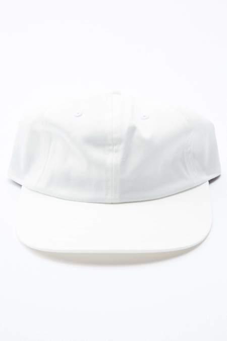 Beams Plus 6-Panel Cap Twill - WHITE