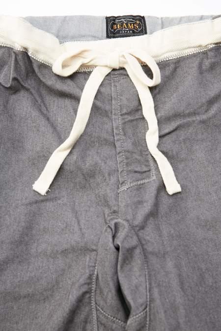 Beams Plus GYM Pants Slim Twill - GREY