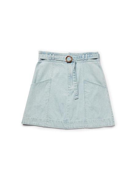 Ryder Chloe Denim Skirt - Light wash