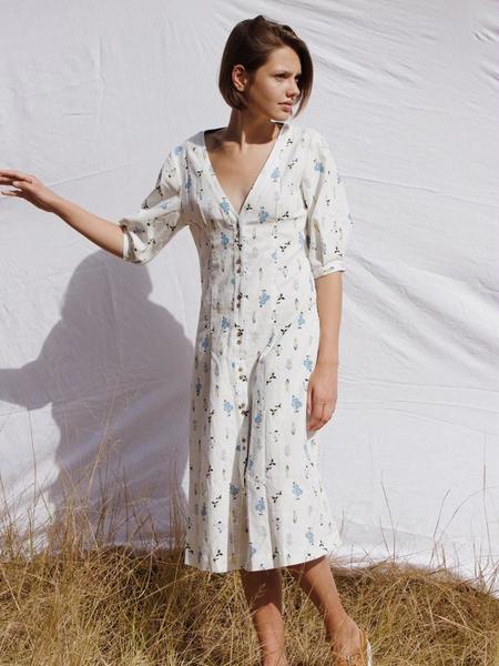 Ryder Coco Midi Dress - Wildflower