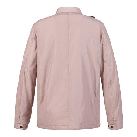 Ma Strum Zip Through Pocket Overshirt - Rose