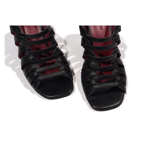Rachel Comey Geneva Heel - Black Leather