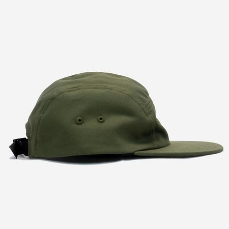 Battenwear Travel 5-Panel Twill Cap - Olive Green