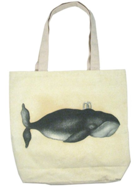 John Derian Whale Tote Bag