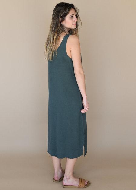 Lacausa Reversible Silk Dress - Sea