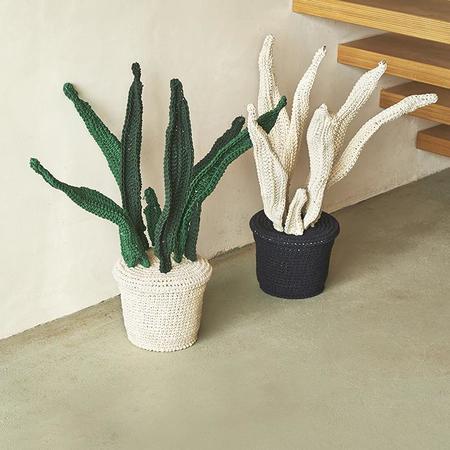 Anne-Claire Petit Crochet Plant - Charcoal