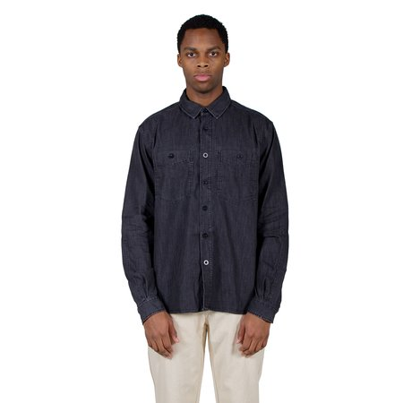 Albam Carpenters Work Shirt - Black