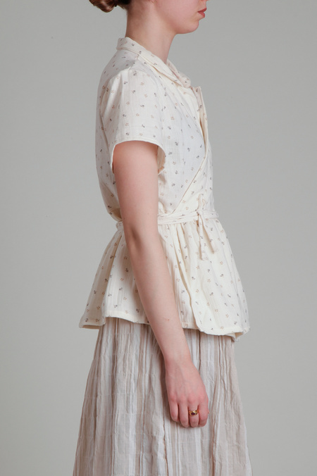 Moskiddos Cotton Wrap Top - Floral