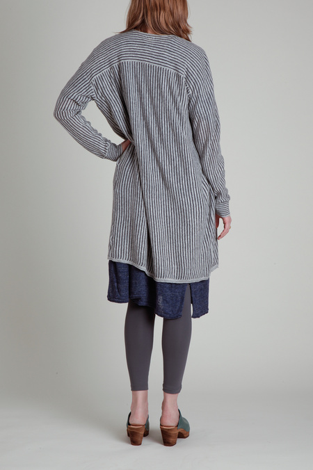 CT Plage Long Sleeve Linen Cardigan