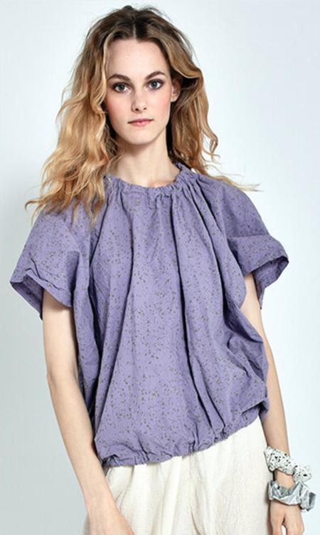 Uzi NYC Nina Blouse - Lavender