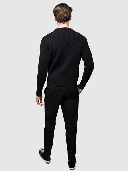 Andersen-Andersen Crewneck Symmetrical - Black