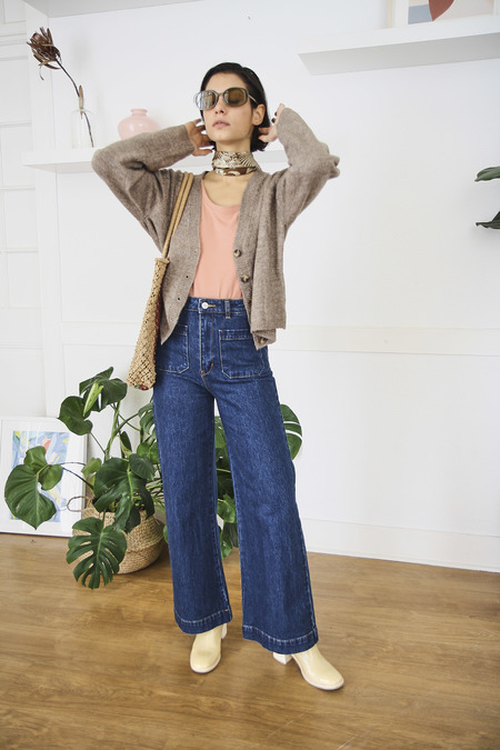 Rollas Sailor Jeans - Vicky Blue