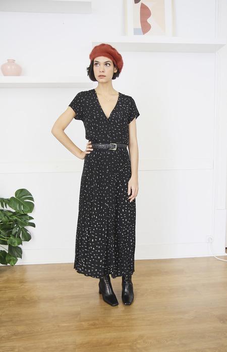 Rollas Milla Dash Maxi Dress - Black