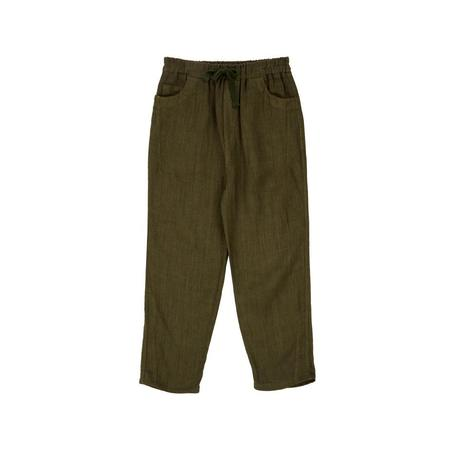 Kids Caramel Aldgate Trouser - Army Green