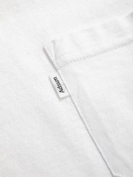 Adsum SS Pocket Tee - White