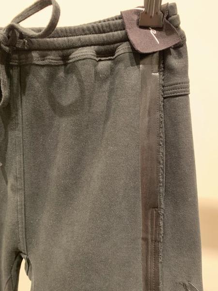 Ilaria Nistri slim sweatpant with tape - black