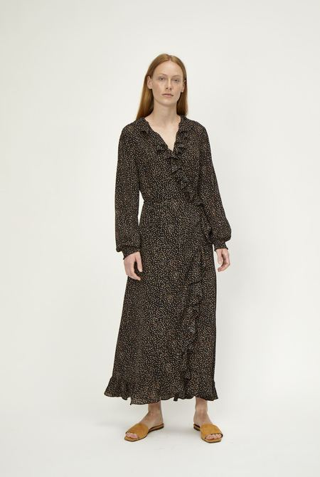 JUST FEMALE Imogene Wrap Dress