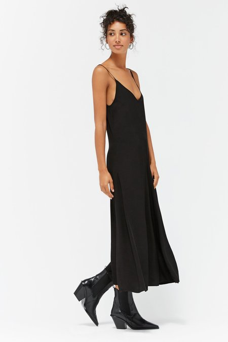 LACAUSA OLEANDER SLIPDRESS - TAR