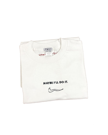 House of 950 embroidery maybe i'll do it tee shirt