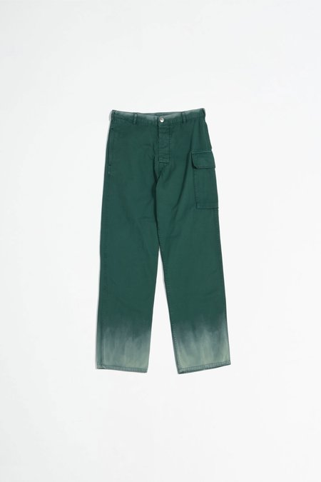 Marni Dyed cargo trousers - green