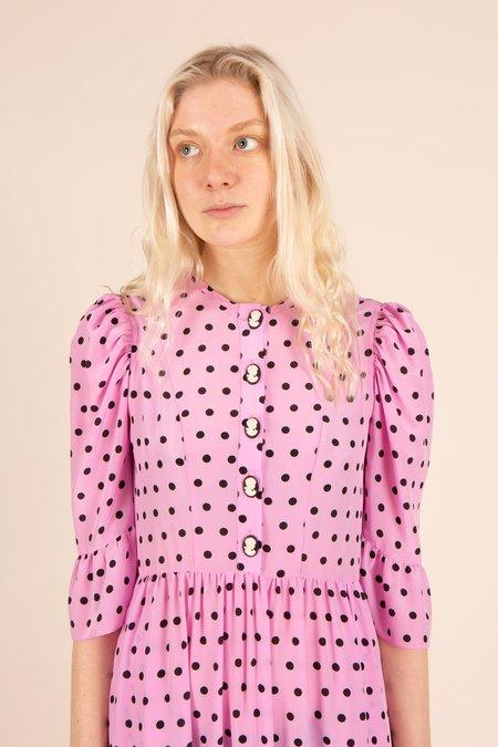 Tidy Street General Store Batsheva Dress - Pink Polka Dot