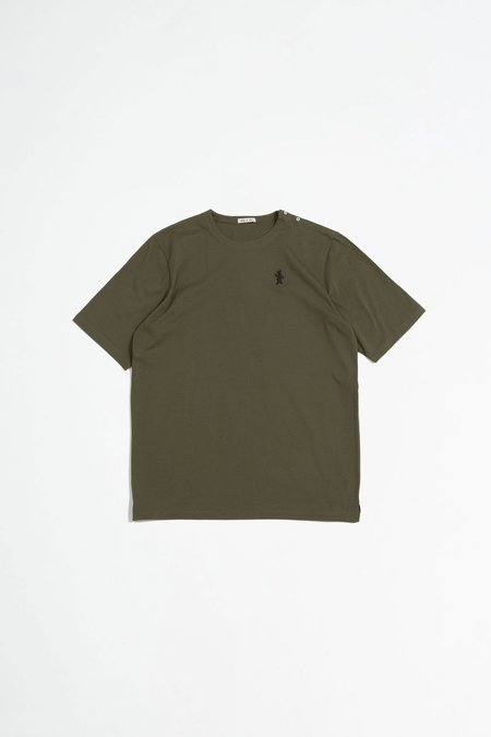 Marni Long Sleeved Cotton Jersey T-shirt - Green